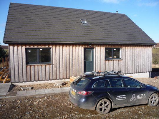 Alba Air Tightness Testing in Aberdeenshire